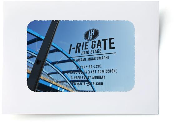 丸亀 港町の美容室 i-RIE GATE イリエゲート